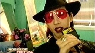 Marilyn Manson Roskilde Festival Interview (1999)