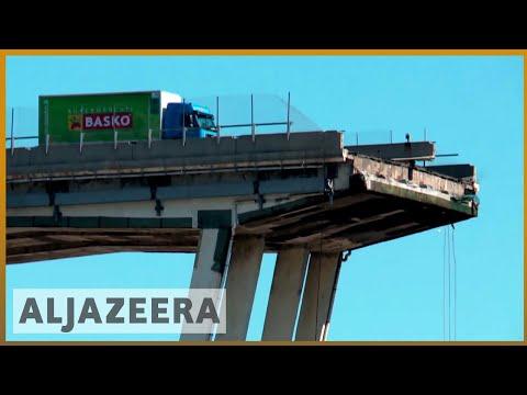 🇮🇹 Italy bridge: 39 dead as rescuers search for survivors   Al Jazeera English