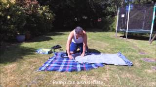 Campingaz Quickbed and Coleman Rechargeable Quickpump