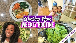 COOK WITH ME | MEAL PLANNING | SUNDAY SETUP | WORKING MOM WEEKLY ROUTINE