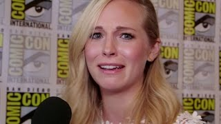 Candice King Interview The Vampire Diaries Season 8 - Comic Con 2016