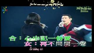 [Vietsub + Kara] 只有情永在 - Chỉ Có Tình Mãi Tồn Tại - Trương Học Hữu & Châu Huệ Mẫn (Live)