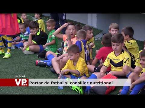Portar de fotbal și consilier nutrițional