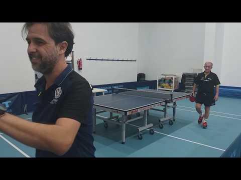🏓JUAN ARJONA vs CHUS JIMENEZ Club Málaga Tenis de Mesa vs IES El Palo | SDA | Aplazado 17/10/2019