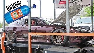 2JZ Drift S15 gets NITROUS - 1000HP!!!