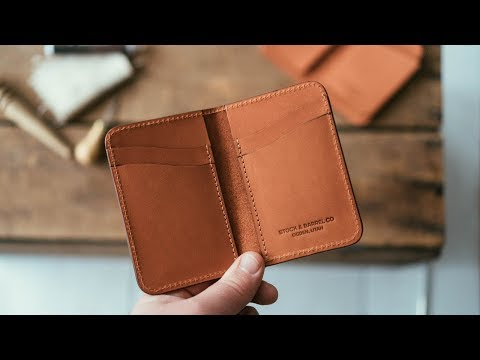 Making a Leather Wallet