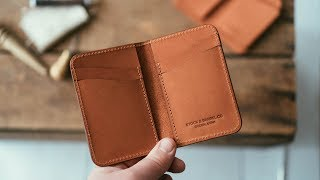 Making Our BEST Selling Leather Wallet (version 2)