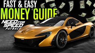 FAST & EASY Money Guide | Need for Speed Payback