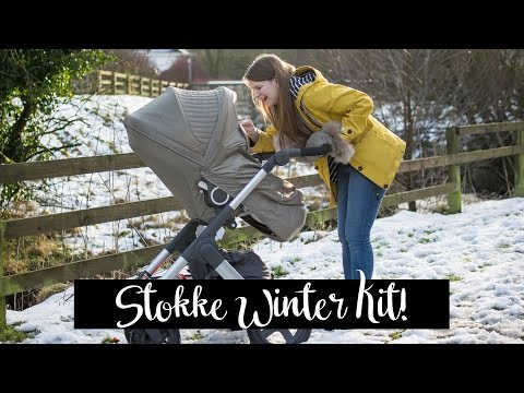Unboxing and fitting the Stokke Winter Kit and Footmuff on the Stokke Trailz