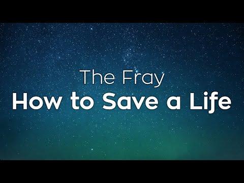 The Fray - How to Save a Life - Lyrics