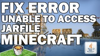 Unable to access jarfile FIX Minecraft 1.12