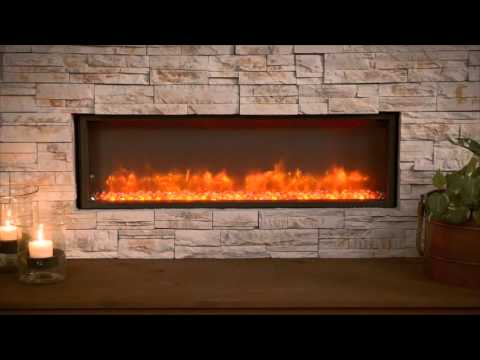 Gallery Collection Built In Linear Electric Fireplace by The Outdoor GreatRoom Company