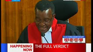 CJ Maraga: As judges we have taken an oath with fidelity to the constitution without fear or favor