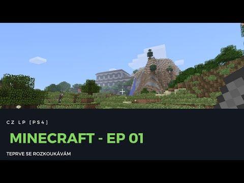 CZ LP Minecraft [PS4] - Teprve se rozkoukávám!
