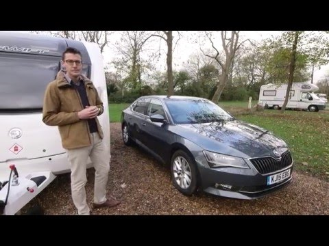The Practical Caravan Škoda Superb review