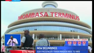 President Uhuru's warning to Kenyans as he launched the SGR project in Mombasa