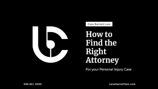 How to Hire a Personal Injury Attorney