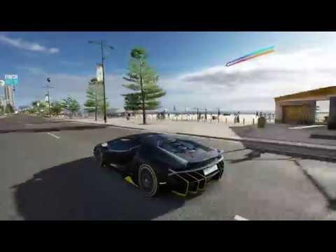 Lamborghini Centenario Vs Jet Forza Horizon 3 Logitech G29 Gameplay