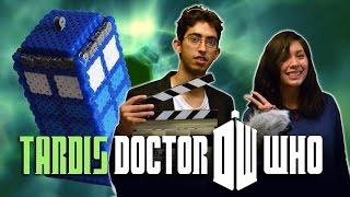 Pixelexip 11 :: Haz una Tardis de Dr. Who en 3D con Perler Beads - DIY