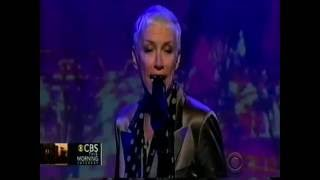 God Bless The Child Annie Lennox CBS Morning Show