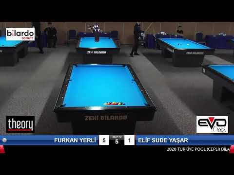 FURKAN YERLİ & ELİF SUDE  YAŞAR Bilardo Maçı -