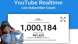1 MILLION SUBSCRIBERS!! THANK YOU SO MUCH!! Live Reaction + VLOG