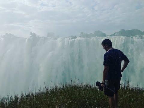 Африка. Водопад Виктория. Банджи в водопад. Замбия и Зимбабве. Хитрости туриста