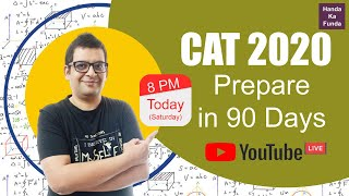 CAT 2020 - How to prepare in 3 months?