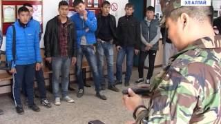 Курсанты автошколы побывали в отряде ОМОН «Беркут»