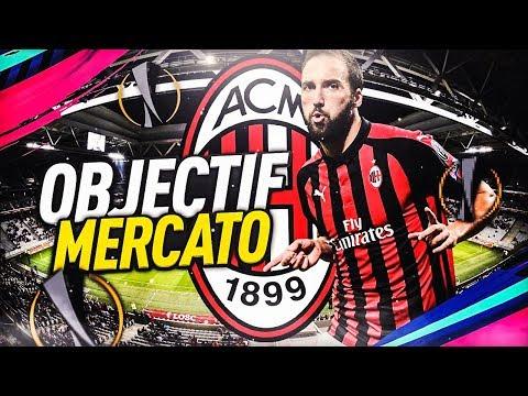 FIFA 19   CARRIÈRE AC MILAN: OBJECTIF MERCATO !