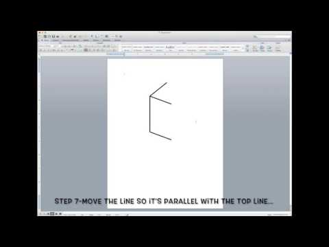 How to Draw a Cube in Word