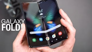 Samsung Galaxy fold Unboxing and First Look!