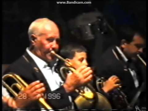 MALVAGNA - Esordio di Ignazio Panebianco nella banda - 1996