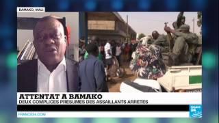 preview picture of video 'MALI - 3 complices présumés arrêtés après l'attentat de Bamako'