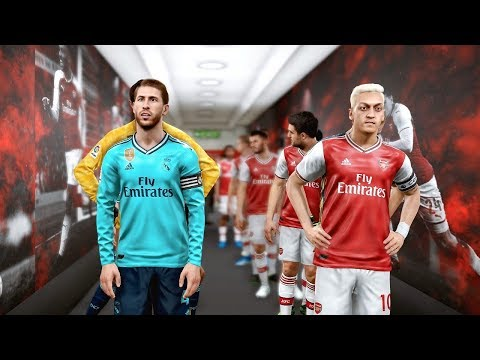 PES 2019 | Real Madrid Vs Arsenal - ICC 23 July 2019 Gameplay