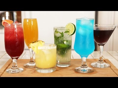 Video 6 Classic Cocktail Recipes!