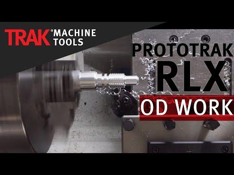 OD Programming | ProtoTRAK RLX CNC | Lathe Programming