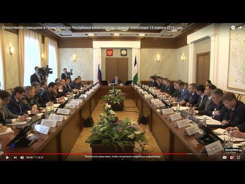 Доклад начальника Управления ветеринарии РБ Азата Зиганшина на оперативном совещание в Правительстве Республике Башкортостан