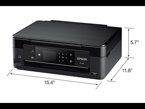 Epson Expression Home XP-440 Wireless Color Photo Printer with Scanner and Copier Unboxing Review