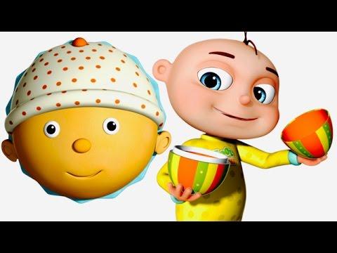 Five Little Babies Eating Cupcakes | Surprise Eggs For Kids | Nursery Rhymes & Children's Songs
