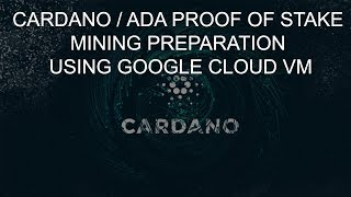 cryptocurrency cardano mining