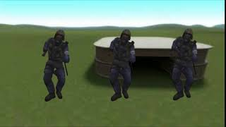 gmod default dance green screen - TH-Clip