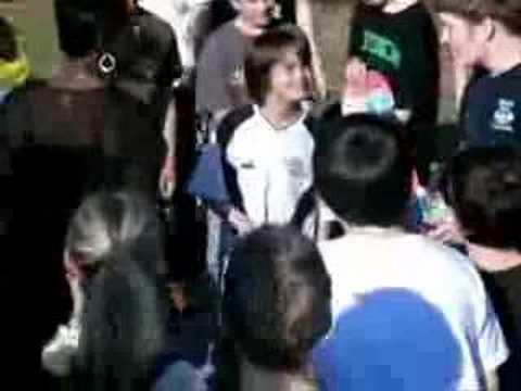 Jerry Springer Visits Warren Skatepark