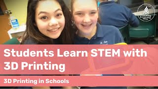 How St Anne School Teaches STEM with 3D Printing