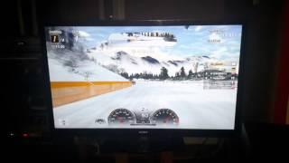 Gran Turismo Michel in the snow
