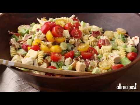 Chicken Club Pasta Salad | Appetizer Recipes | Allrecipes.com