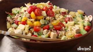 Chicken Club Pasta Salad | Appetizer Recipes | Allrecipes.com