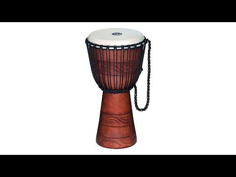Meinl 10″ Water Rhythm Series Original African Rope Tuned Djembe Review by Sweetwater Sound