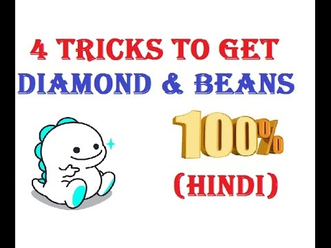 How to increase Diamonds and beans in bigo live app easy 2020
