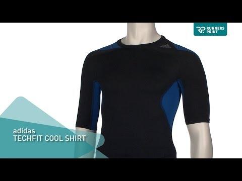 Herren Laufshirt adidas Techfit Cool